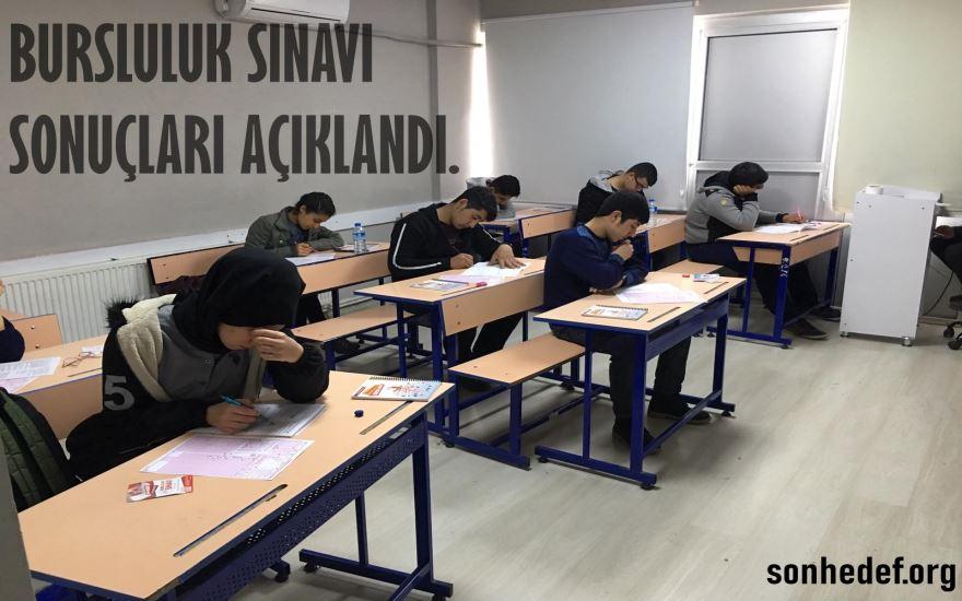 2-3 Mart Bursluluk Sınav Sonuçlarımız Açıklandı.