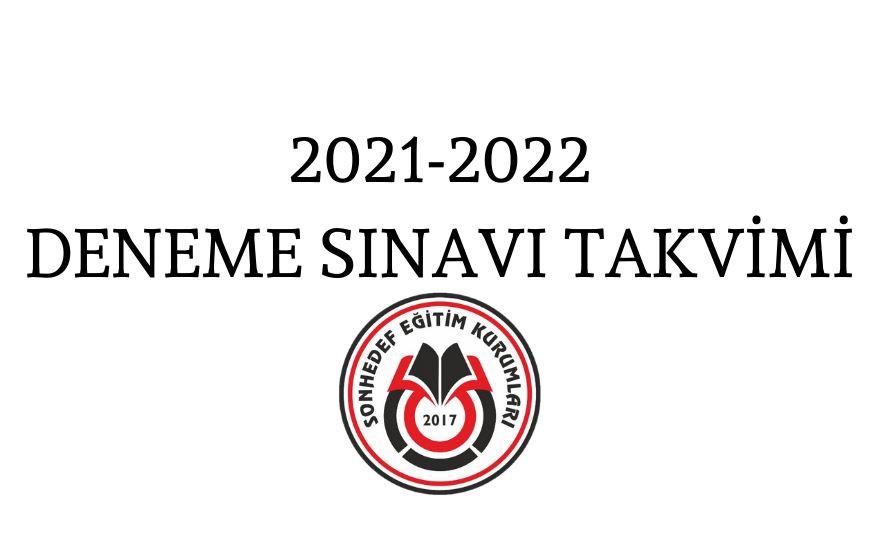 >2021-2022 DENEME SINAVI TAKVİMİ